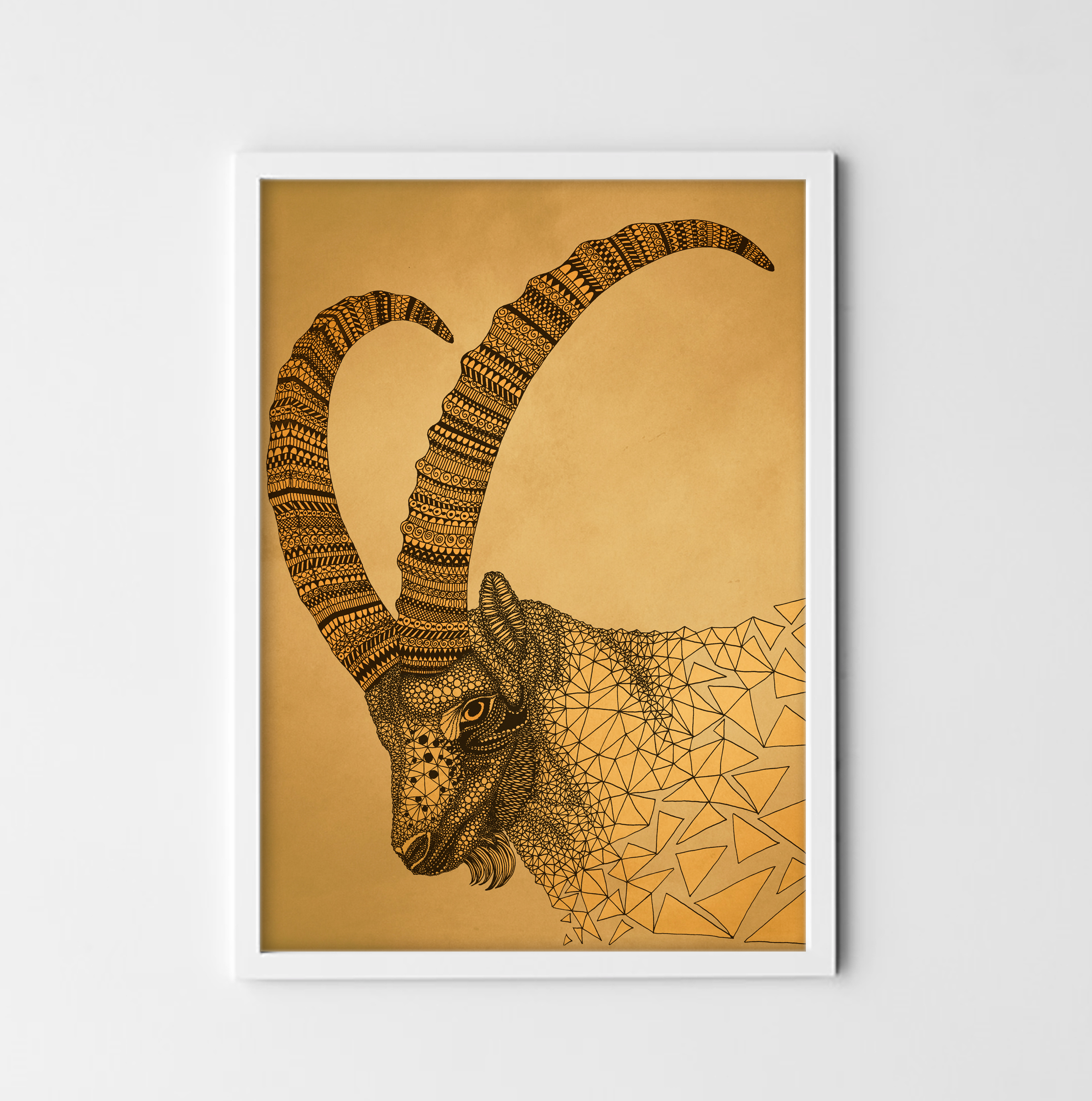 Capricorn - digital print